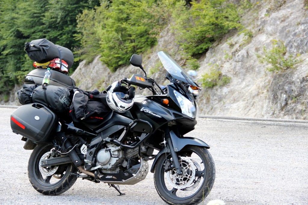Suzuki motorcycle