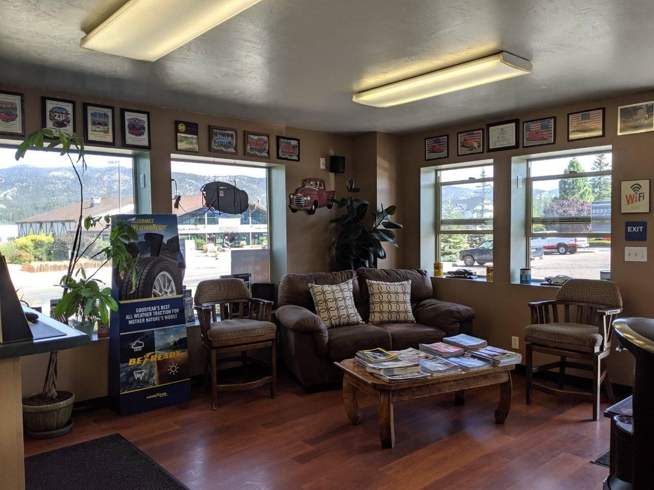 Phil's Automotive Lobby