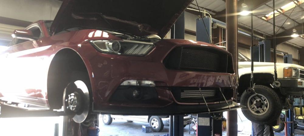 Mustang repair